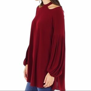 Free People Cold Shoulder Tunic